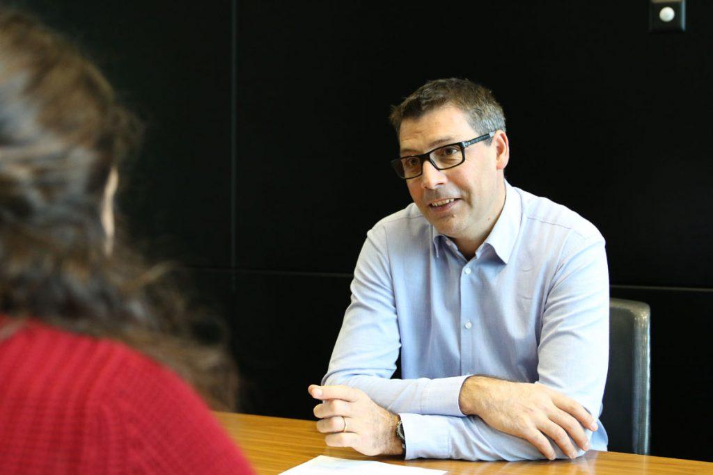 Fabrice Bonvin, directeur de Groupe E plus