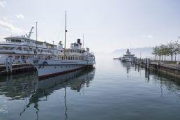 Die «Italie» wird sich im Oktober 2016 wieder zu ihren Schwesterschiffen auf dem Genfersee gesellen.